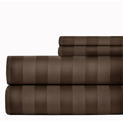 500 Thread Count Sheet Set Size: King, Color: Chocolate