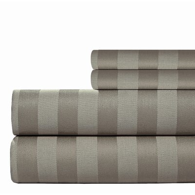 500 Thread Count Sheet Set Size: Queen, Color: Gray