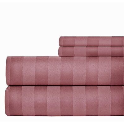 500 Thread Count Sheet Set Size: King, Color: Blush