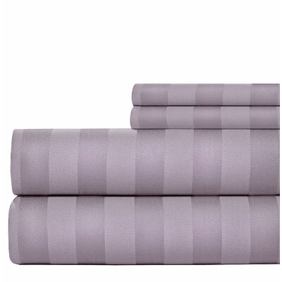 600 Thread Count Cotton Sheet Set Size: King, Color: Orchid