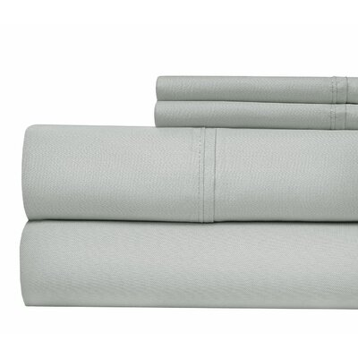 Luxury 1000 Thread Count Sheet Set Color: Gray, Size: California King