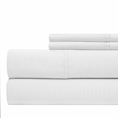 800 Thread Count Sheet Set Color: White, Size: Queen