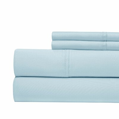 800 Thread Count Sheet Set Color: Blue, Size: Queen