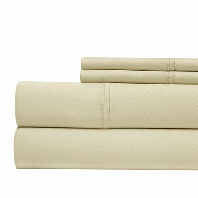 800 Thread Count Sheet Set Color: Taupe, Size: Queen