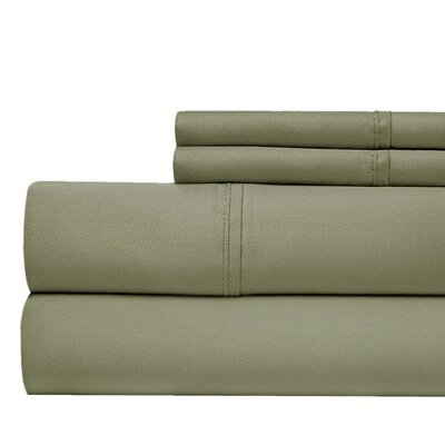800 Thread Count 100% Cotton Sheet Set Color: Grey, Size: King
