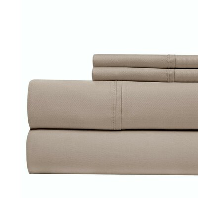 800 Thread Count 100% Cotton Sheet Set Color: Liliac, Size: Queen
