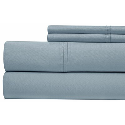 400 Thread Count 100% Pima Cotton Sheet Set Size: Queen, Color: Blue