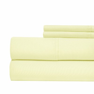 630 Thread Count Egyptian Quality Cotton Sheet Set Size: King, Color: Ivory