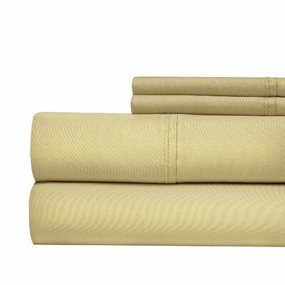 Luxury 700 Thread Count Sheet Set Size: California King, Color: Taupe
