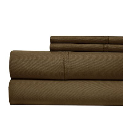 Luxury 700 Thread Count Sheet Set Size: Queen, Color: Chocolate