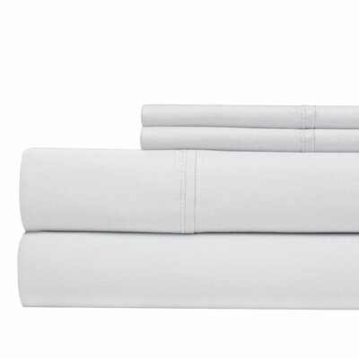 Luxury 700 Thread Count Sheet Set Size: California King, Color: White