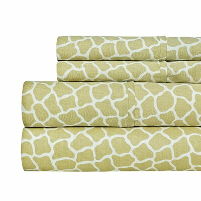 4 Piece 400 Thread Count 100% Cotton Sheet Set Size: King