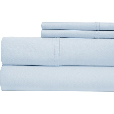 Luxury 700 Thread Count Sheet Set Size: King, Color: Blue
