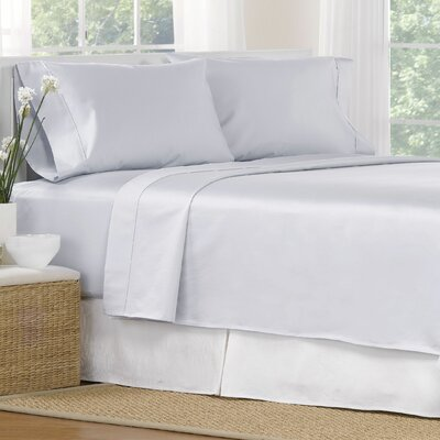 4 Piece 1000 Thread Count Egyptian Quality Cotton Sheet Set Color: Blue, Size: California King