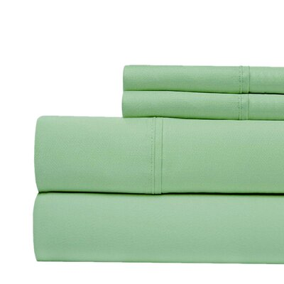 400 Thread Count 100% Pima Cotton Sheet Set Size: Queen, Color: Sage