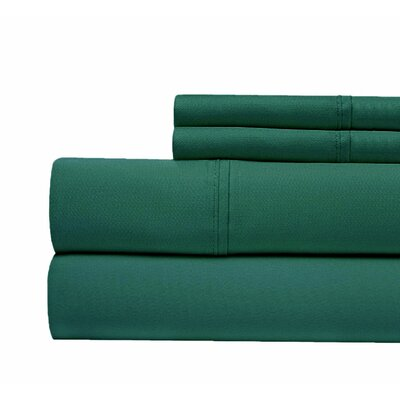 400 Thread Count 100% Pima Cotton Sheet Set Size: Queen, Color: Green