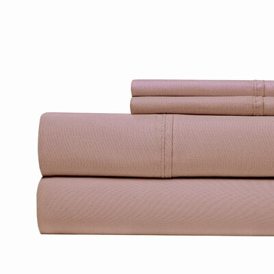 4 Piece 1000 Thread Count Sheet Set Color: Plum