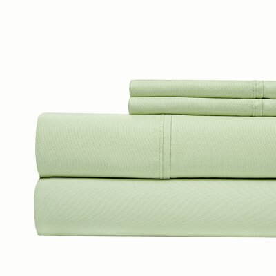 4 Piece 1000 Thread Count Sheet Set Color: Sage