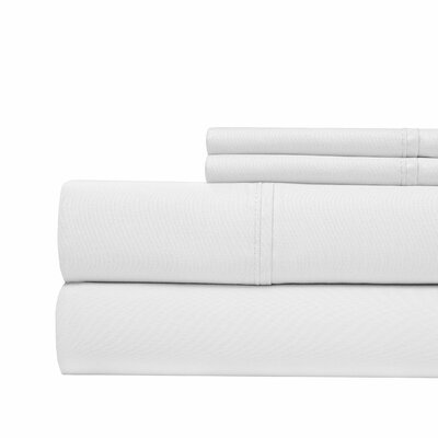 4 Piece 1000 Thread Count Sheet Set Color: White