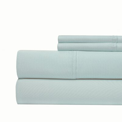 4 Piece 1000 Thread Count Sheet Set Color: Blue