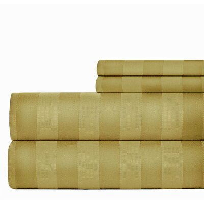500 Thread Count Sheet Set Color: Ivory, Size: California King