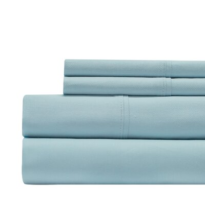 Decker Luxury 1000 Thread Count Sheet Set Color: Aqua, Size: King