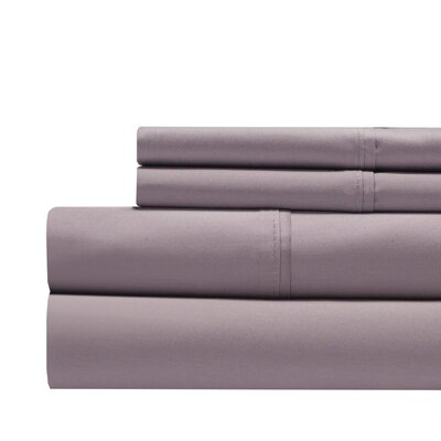 Decker Luxury 1000 Thread Count Sheet Set Color: Lilac, Size: King
