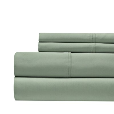 Decker Luxury 1000 Thread Count Sheet Set Color: Sage, Size: Queen