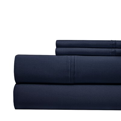 Tayler 500 Thread Count 100% Cotton Sheet Set Color: Gray, Size: Queen