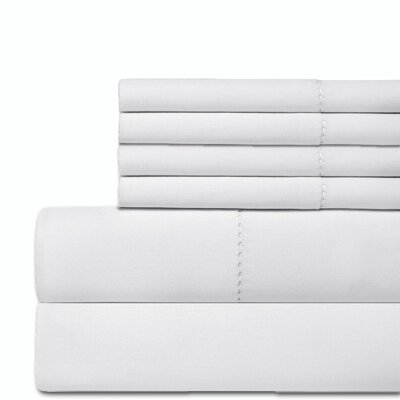 Crowl 300 Thread Count 100% Cotton Sheet Set Size: Queen