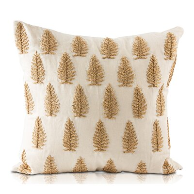 Jowar Linen Throw Pillow