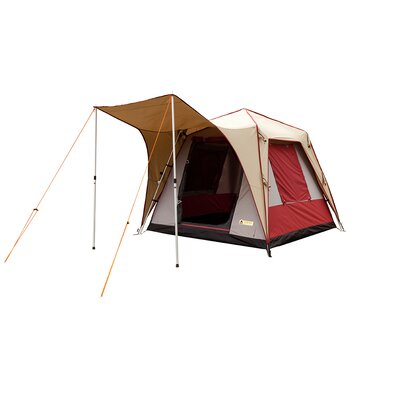 Pine Deluxe Canvas Turbo Tent Size: 4 Person