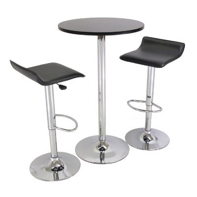 "Easy financing 3-Piece 24"" Pub Table Set with..."