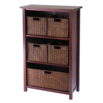 Winsome Milan Storage Shelf and Baskets at Sears.com