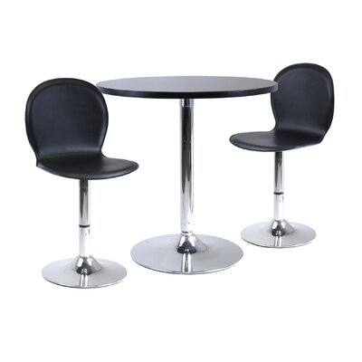 Bad credit financing Winsome 3 Piece Dining Set...