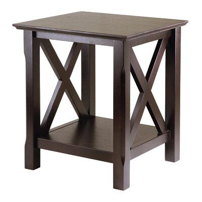 Cheap Winsome Xola End Table in Cappuccino (WN1452)