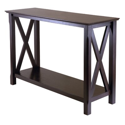 Cheap Winsome Xola Console Table in Cappuccino (WN1454)