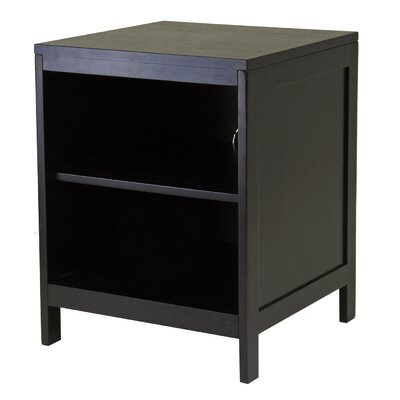 Cheap Winsome Hailey Small Modular 19″ TV Stand with Open Shelf in Espresso (WN1472)