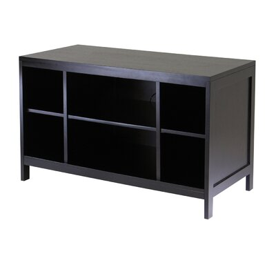 Cheap Winsome Hailey Large Modular 40″ TV Stand with Open Shelf in Espresso (WN1473)