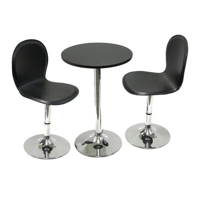 No credit check financing Spectrum 3 Piece Dining Set...