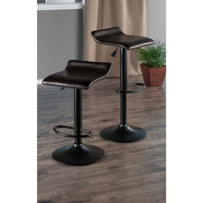 Winsome Paris Adjustable Height Swivel Bar Stool