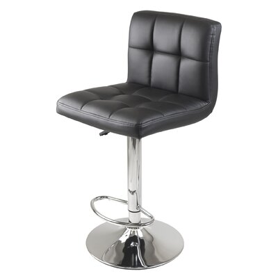 Stockholm Adjustable Height Swivel Bar Stool
