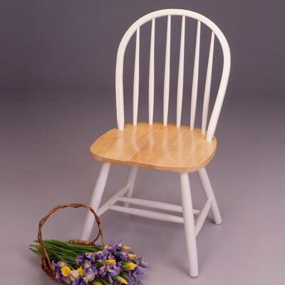 Bad credit financing Side Chair (Set of 2) Finish: White...