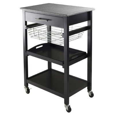 Winsome Julia Kitchen Cart with Granite Top at Sears.com
