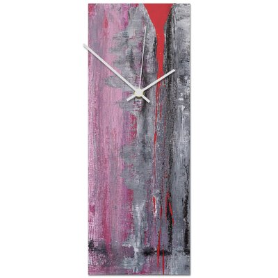 Palaestra Metal Wall Clock Size: Medium