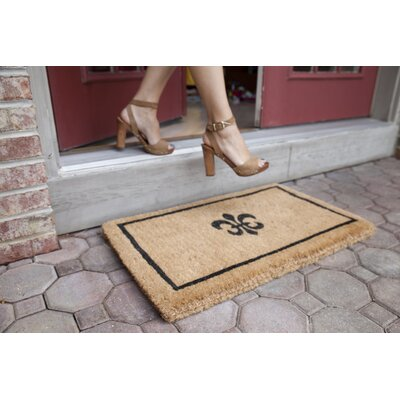 Patrick Fleur Dy Lys Doormat Size: Rectangle 32 x 72