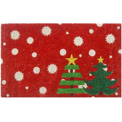Sweet Home Christmas Trees Doormat