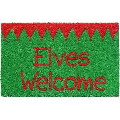 Sweet Home Elves Welcome Doormat