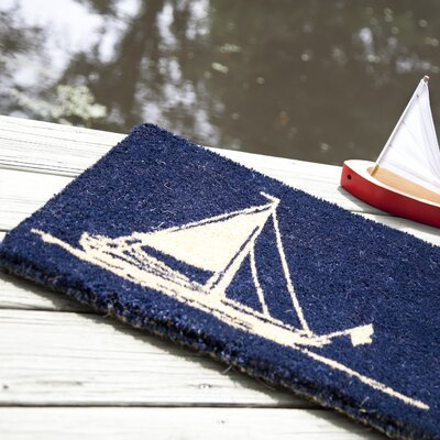Wilhelmina Sailboat Doormat