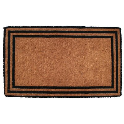 Caitlyn The one with the Border Doormat Mat Size: Rectangle 16 x 26